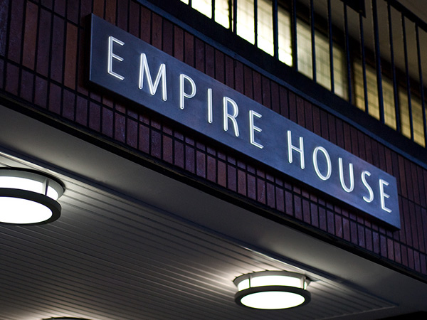 Empire House Entrance